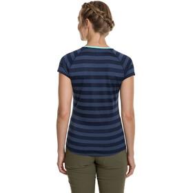 Berghaus Stripe Tech 2.0 T-Shirt Col ras-du-cou Femme, dusk/vintage indigo